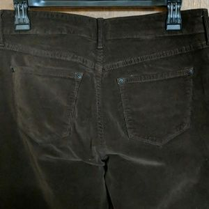 NYDJ Pants - Not Your Daughter's Jeans dark brown corduroy pant